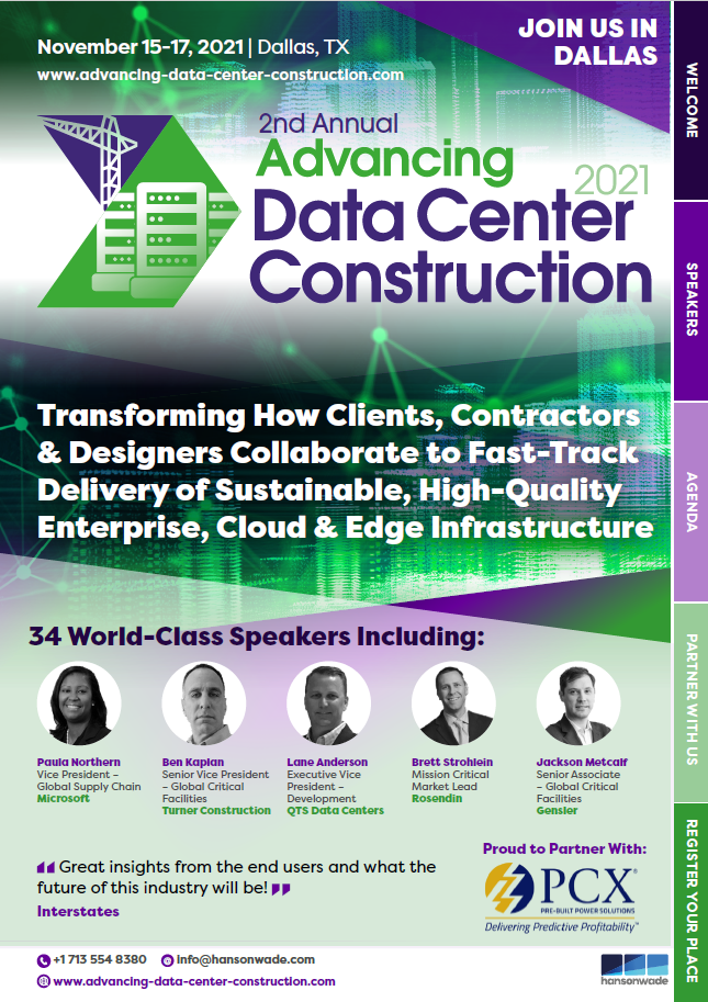 Advancing Data Center Page 1